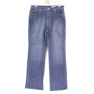 Platinum Denim Abalone Straight Leg Jeans {Chicos}